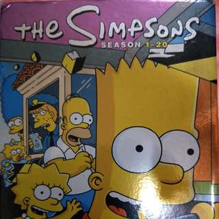 THE SIMPSONS 辛普森家庭 1-20季 DVD全集