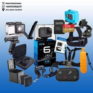 GoPro HERO 6 / HERO6 Black 4K Action Camera