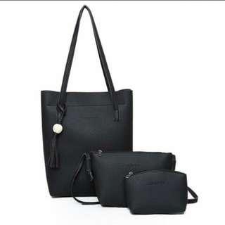 3 in 1 Korean Bag Set