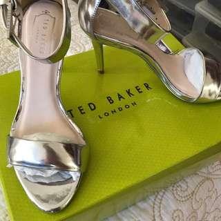 Ted Baker silver heels