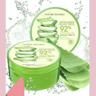 (SHARE IN JAR 150ml)Nature Republic Aloe Vera 92% Soothing Gel