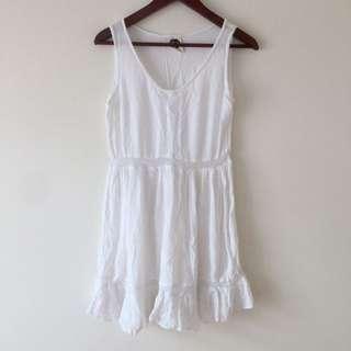 All About Eve White Boho Dress