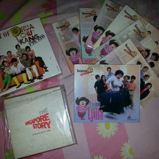 Classic collection of Phua Chu Kang, Living with Lydia and The Singapore Story