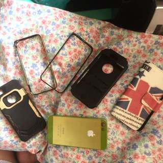 Iphone Cases (all for only 70)