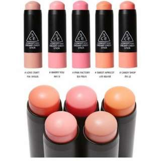 3ce creamy cheek stick