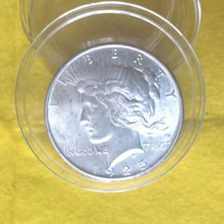 美國1925和平銀元