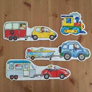 Vehicle Puzzle Set