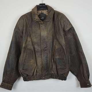 [Mitty's] 古著 皮衣外套
