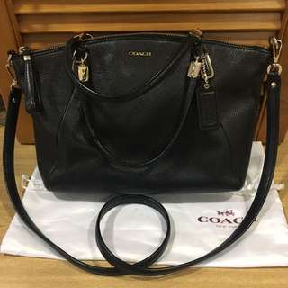 Coach Madison small kelsey satchel leather