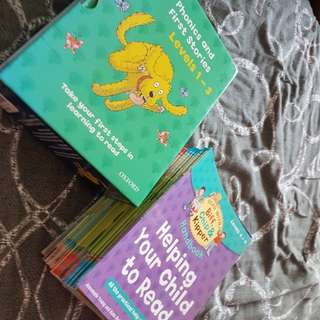 Oxford Reading Tree phonics Level 1 to 6