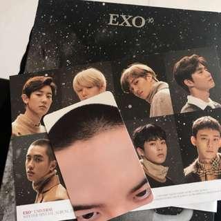 Exo universe Do小卡連專輯