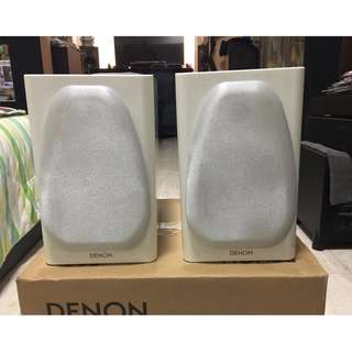 Brand NEW Denon SC-N8 Ceol Bookshelf Speakers Piano Gloss White (6 Ohms, 100 Watts)
