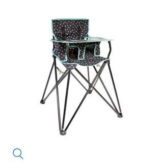Baby/toddler camping high chair