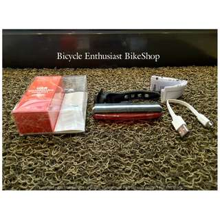 *RED* Raypal RPL-2266 USB Rechargeable Led Light Bike Light Bicycle Light *RED*
