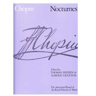 Chopin Nocturnes - Piano Book (ABRSM version)