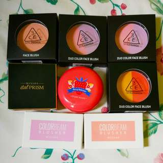 Korean Blusher Sale!!!