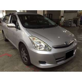 26/01 - 29/01/2018 TOYOTA WISH ONLY $240.00 ( P PLATE WELCOME)