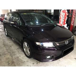26/01 - 29/01/2018 HONDA ODYSSEY 2.4A ONLY $270.00 ( P PLATE WELCOME)