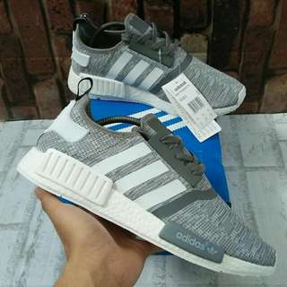 ADIDAS NMD R1 GLITCH PACK GREY MIROR QUALITY SIZE 39-45 STOCK DIKIT
