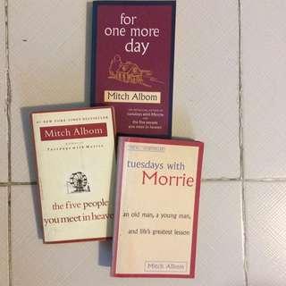 Mitch Albom novels