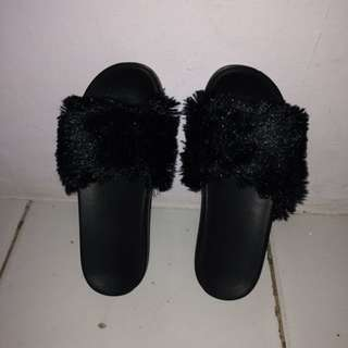 Furr Sandals