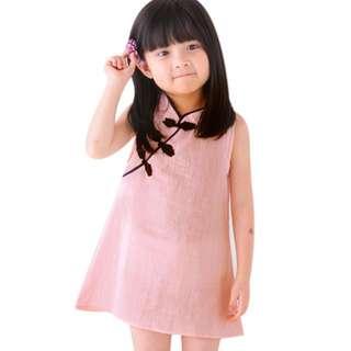 Chinese New Year Kids Cheongsam Qipao