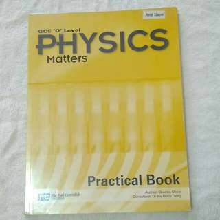 GCE O LEVEL PHYSICS PRACTICAL BOOK