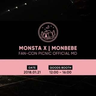 MONSTAX | MONBEBES FANCON MD (PRE ORDER)