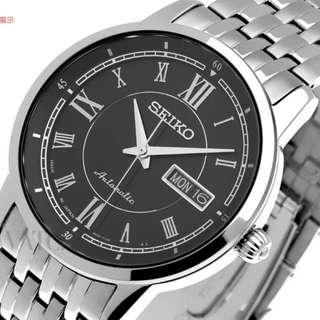 精工 SEIKO 女裝 Presage 自動可手上鍊手表 SRP393J1 另可配男裝一對 日本製造