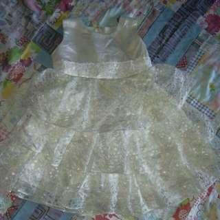 Baptismal dress 1 yrs old