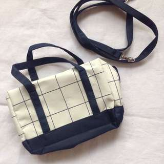 Tote bag with sling