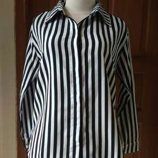 Blouse in Stripe