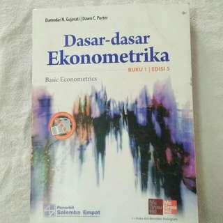 Dasar-dasar ekonometrika buku 1