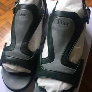 Authentic Dior Flat Sandals