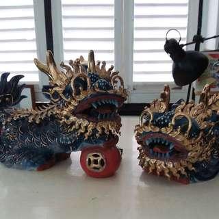 Chinese Qi Lin 麒麟