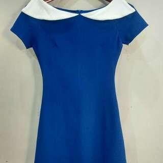 Something Borrowed (Zalora) Mini / Short Dress in Royal Blue