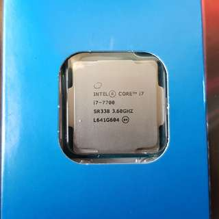 intel Kaby Lake  i7-7700 cpu with cooler