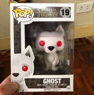 Game of Thrones Ghost Funko Pop