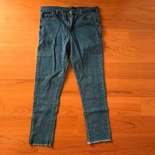 原色牛仔褲