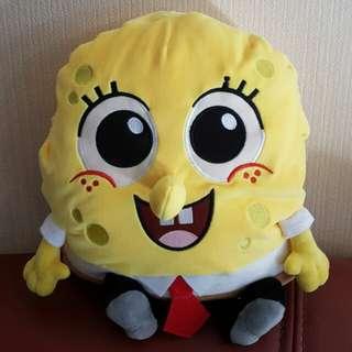 Spongebob 海綿寶寶咕𠱸暖手枕