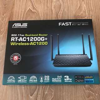 RT-AC1200G+ Wireless-AC1200 Dual band router