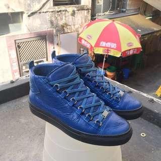 Balenciaga high sneakers - Lambskin sneakers with 2 tone
