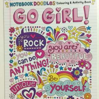 Notebook Doodles Coloring & Activity Book
