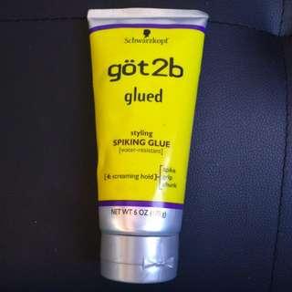 Schwarzkopf Göt2b Glued Styling Spiking Glue