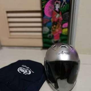 Helmet arai ram3 grey original