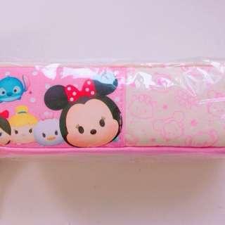 迪士尼(Tsum Tsum)中方型棉布筆袋