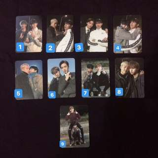 Monsta X The Code Unit Photocard [ De:Code Ver ]