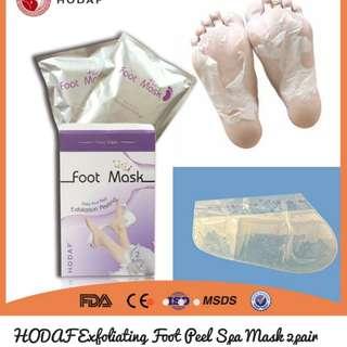 Expoliating Foot Peel Spa Mask