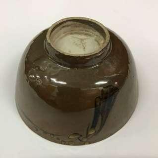 [51 TSCUT 045] Vintage brown bowl
