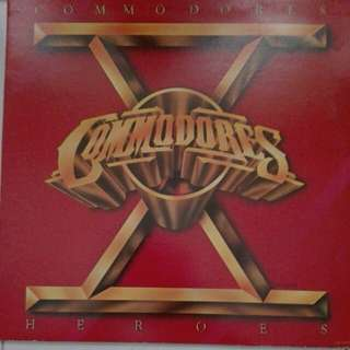 Commodores Heroes Vinyl LP Record